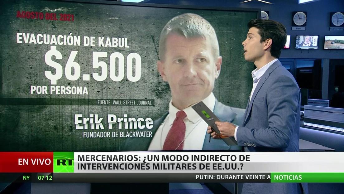 Mercenarios: ¿un método indirecto de intervenciones militares de EE.UU.?
