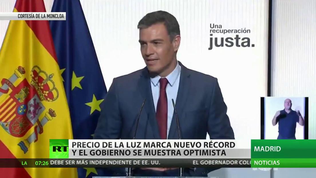 El Gobierno de España actúa frente a la subida del precio de la electricidad