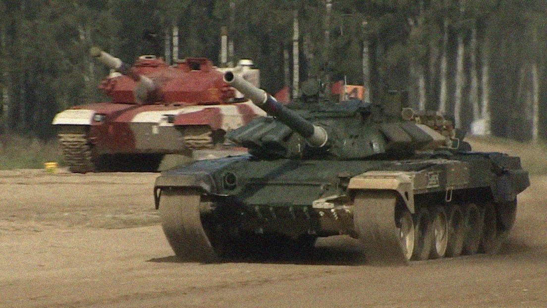 Rusia gana la primera semifinal del biatlón de tanques en los Juegos Militares Internacionales 2021 (VIDEO)