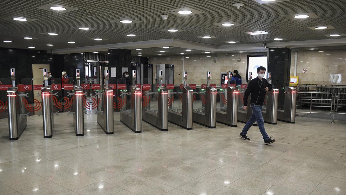 Sin tarjetas, ni efectivo: Moscú anuncia que en octubre se podrá pagar con un vistazo en todas las estaciones de metro de la capital