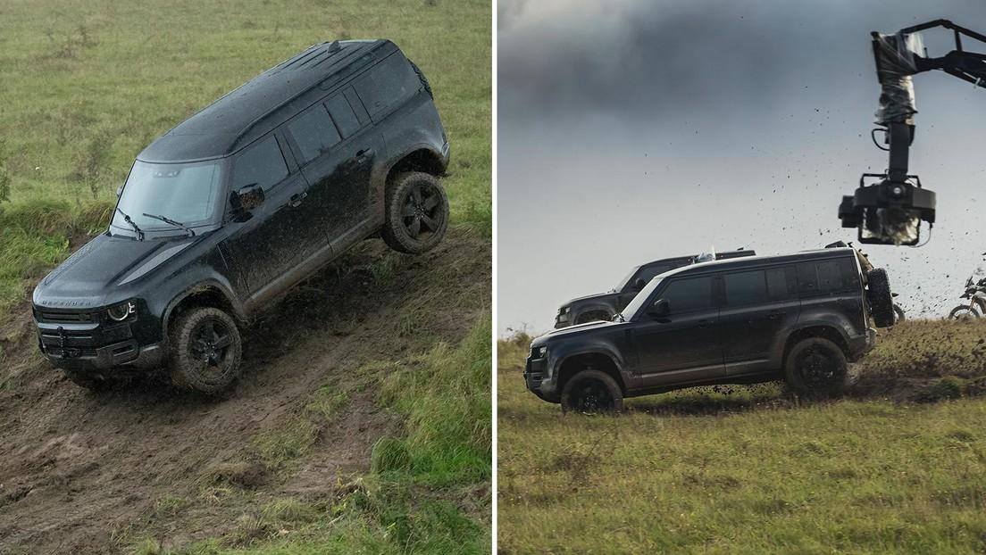 'Sin tiempo para morir': Land Rover presenta una versión especial de todoterrenos inspirada en el agente 007