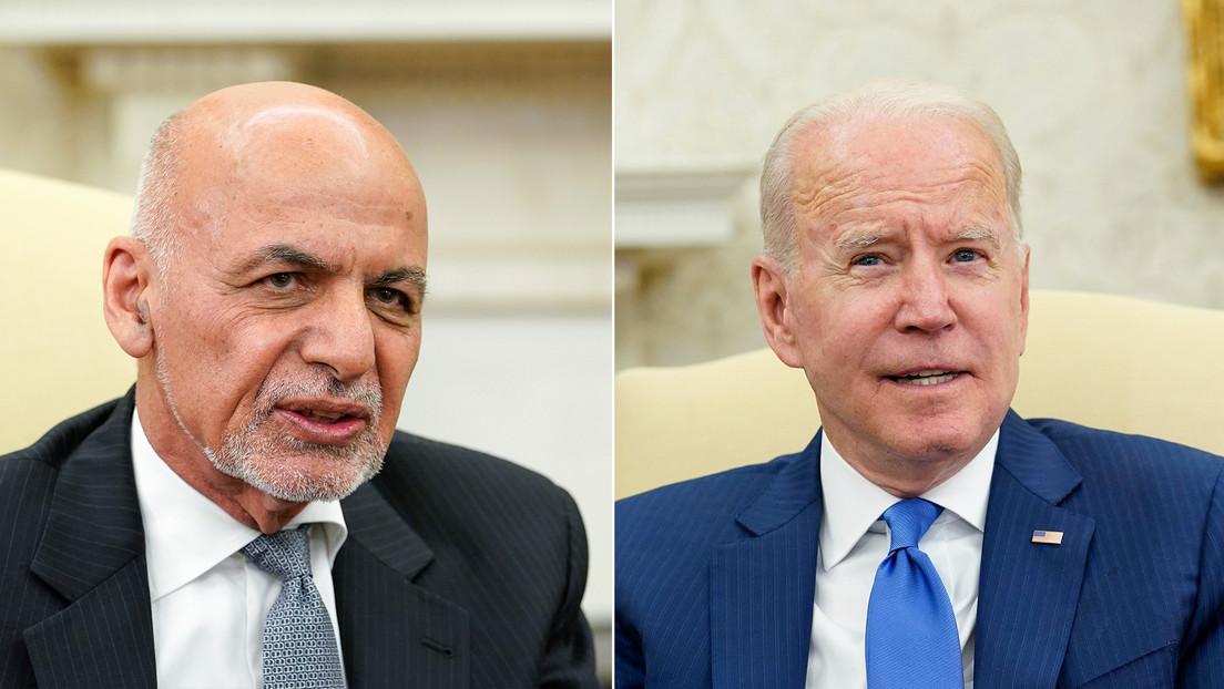 """Reuters: Semanas antes de la caída de Kabul, Biden presionó a Ghani para crear la """"percepción"""" de que los talibanes no estaban ganando"""