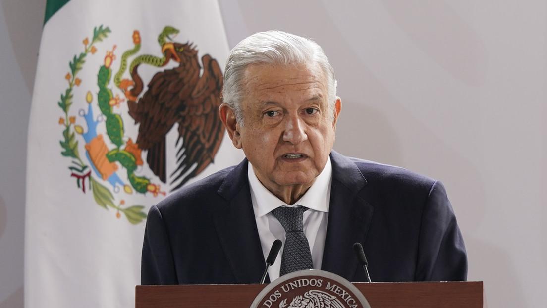 """""""Hay que atender las causas"""": López Obrador enviará una carta a Biden para insistir en el financiamiento a Centroamérica para atender la migración"""