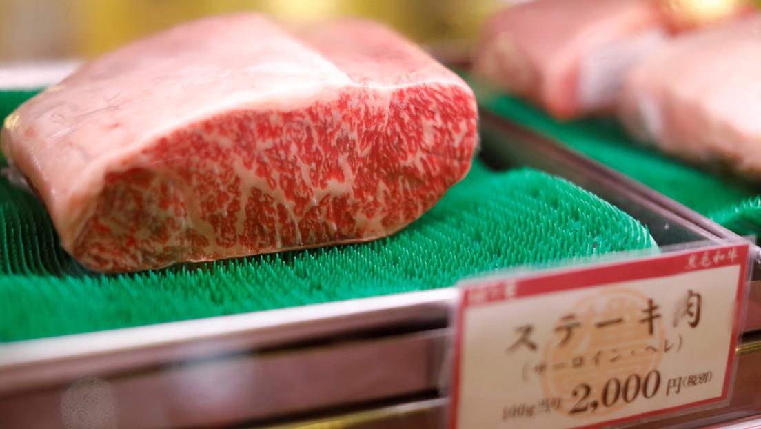 Científicos crean por primera vez una impresión 3D de un filete de carne de wagyu, la más cara del mundo
