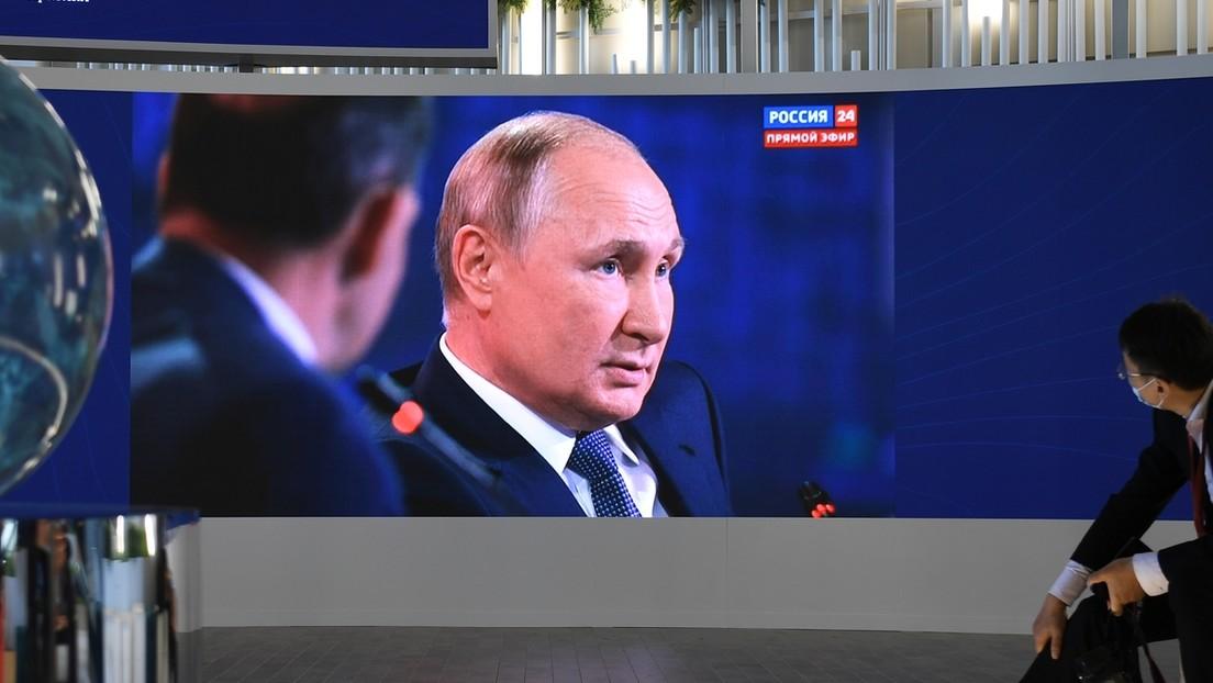 Putin acusa a los países líderes de bombear dinero a sus economías en vez de ayudar a los demás en plena pandemia