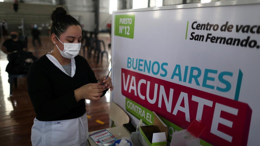 Argentina presenta un nuevo informe sobre los efectos adversos reportados tras el uso de las vacunas Sputnik V, Sinopharm y AstraZeneca/CovidShield