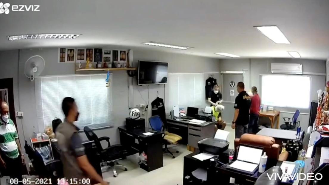 Un video no previsto da a conocer la tortura y muerte de un sospechoso de narcotráfico a manos de la Policías en Tailandia