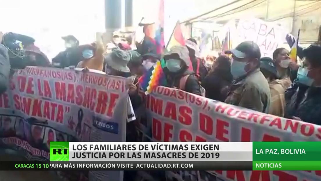 Bolivia: los familiares de las víctimas de las masacres de Senkata y Sacaba exigen justicia