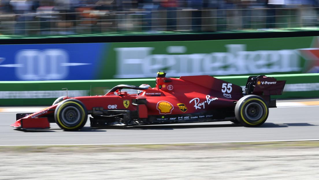 VIDEO: El accidente de Carlos Sainz Jr. que podría dejarle fuera del Gran Premio de Fórmula 1 de Países Bajos