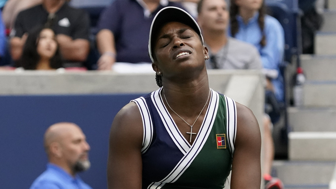 """""""Que seas secuestrada y violada"""": una tenista de EE.UU. recibe """"más de 2.000 mensajes"""" de abuso tras su derrota en el US Open"""