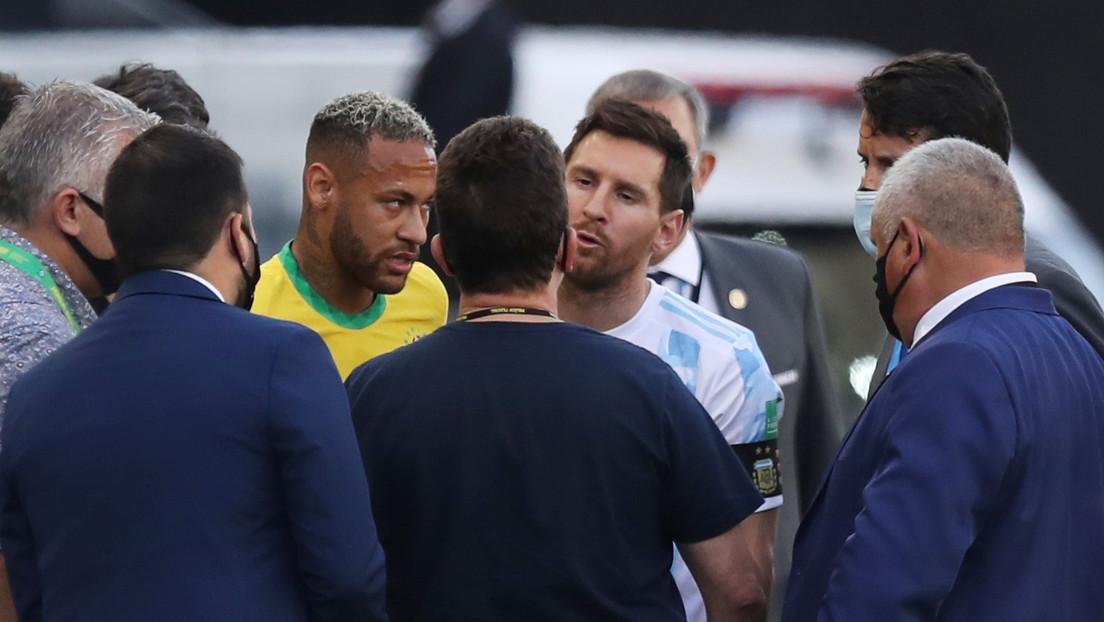 Suspenden el partido entre Brasil y Argentina nada más empezar por incumplimiento de los protocolos sanitarios