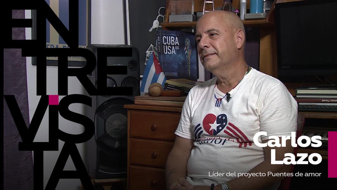 """Carlos Lazo,líder del proyecto Puentes de amor:""""En el tema cubano Biden no es el presidente: el presidente sigue siendo Trump"""""""
