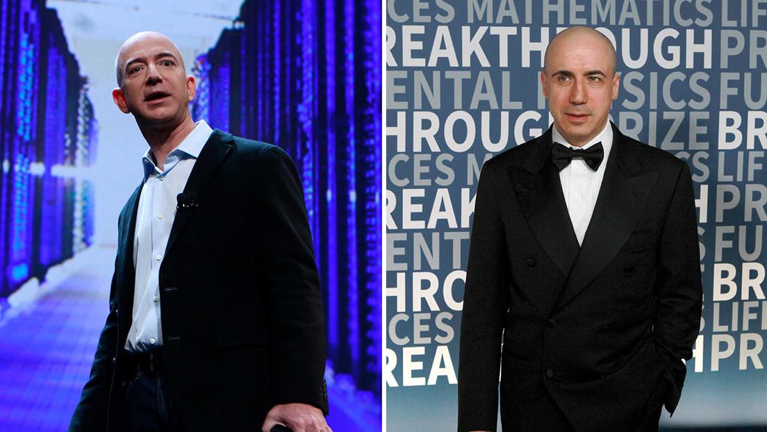 Jeff Bezos, Yuri Milner