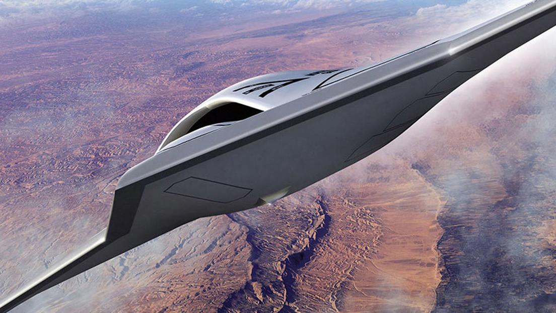 FOTO: Fotografían en Filipinas una aeronave de ala voladora que podría ser un avión espía furtivo no tripulado RQ-180 de EE.UU.