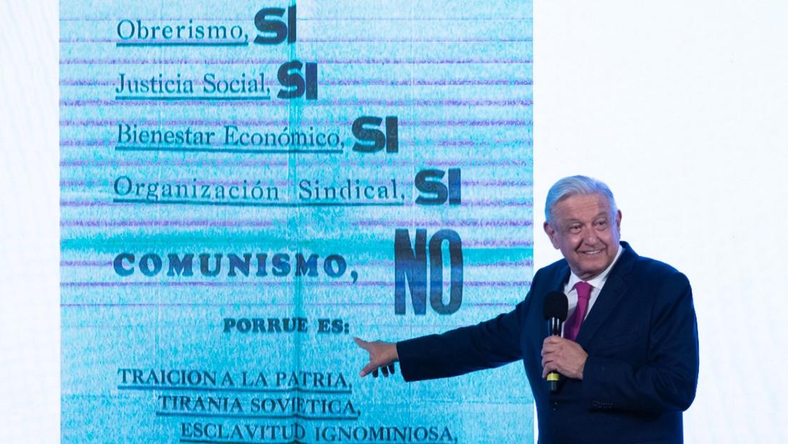 """López Obrador reta a sus opositores a reconocer públicamente sus simpatías por Vox: """"Salgan del clóset; soy fascista y qué"""""""