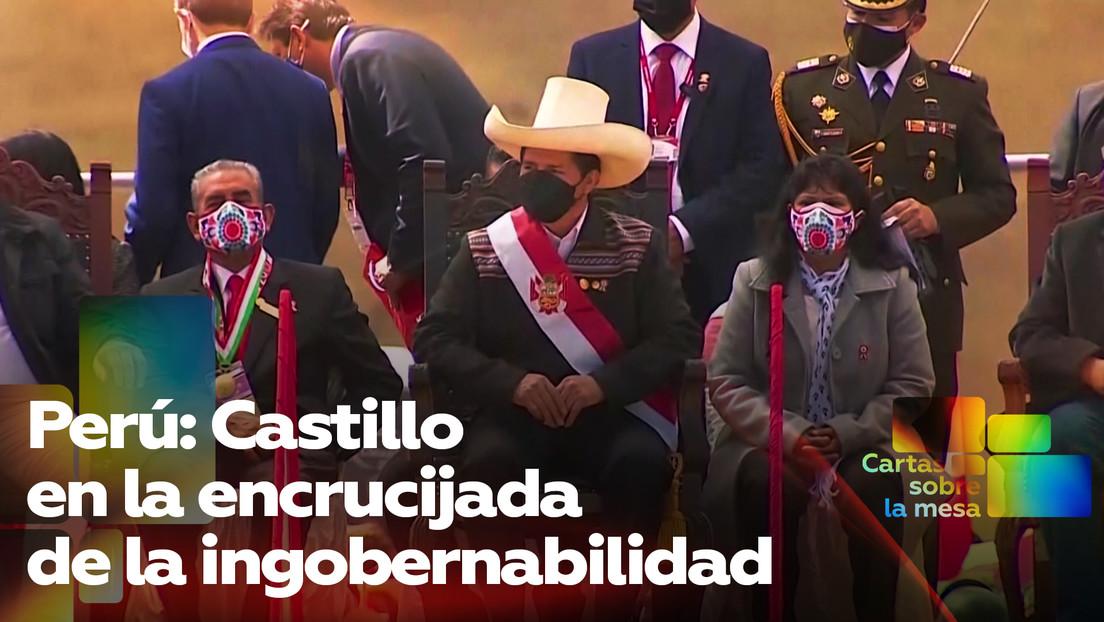 Perú: Castillo en la encrucijada de la ingobernabilidad