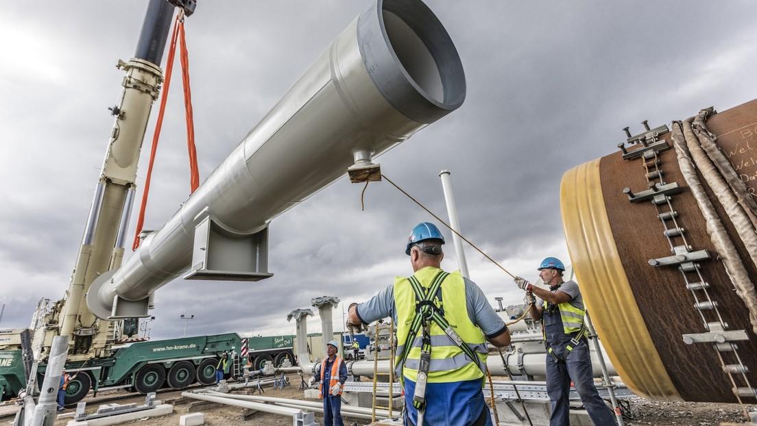 Concluye la construcción del Nord Stream 2, el gasoducto de más de 1.200 kilómetros que duplicará los suministros del gas natural desde Rusia a Europa