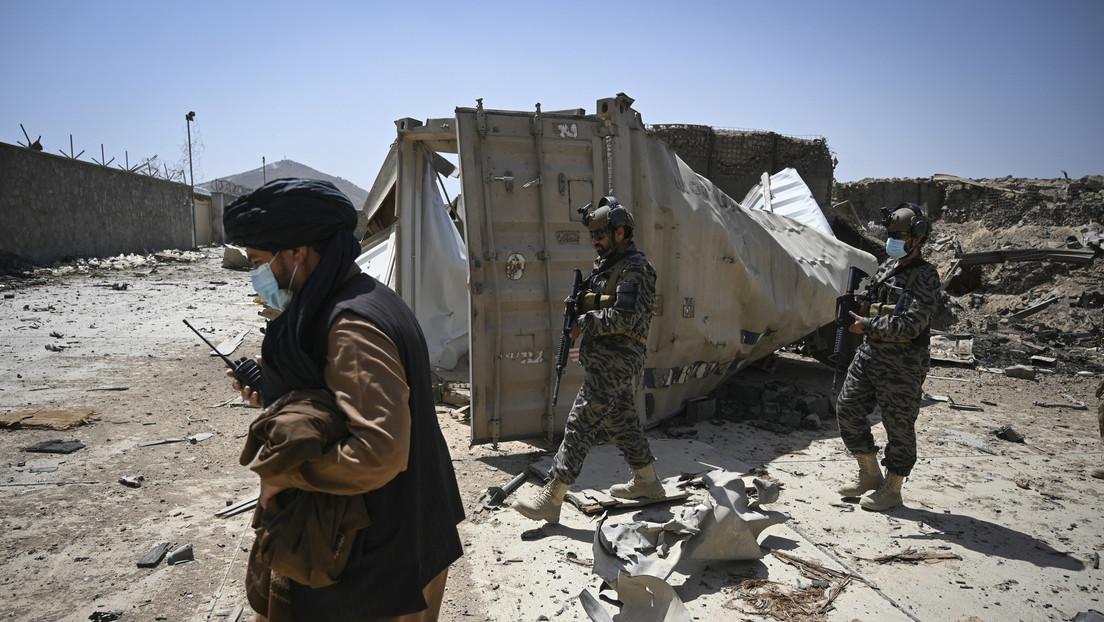 Aparecen imágenes de la última base de la CIA en Kabul, destruida por EE.UU. antes de su salida de Afganistán