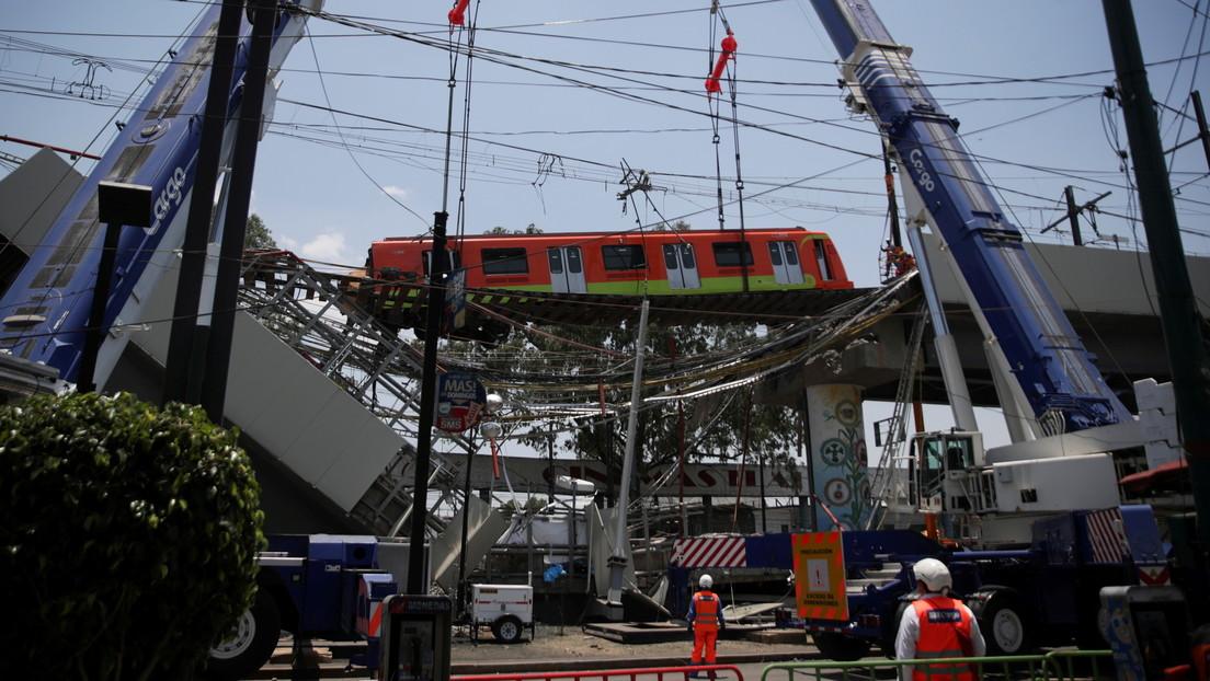 Estas son las dos causas del fatal colapso de la Línea 12 del metro de la Ciudad de México