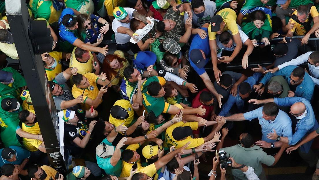 """""""La paciencia se agotó"""": La amenaza de Bolsonaro a la Justicia de Brasil, en medio de una multitud de seguidores en Sao Paulo"""