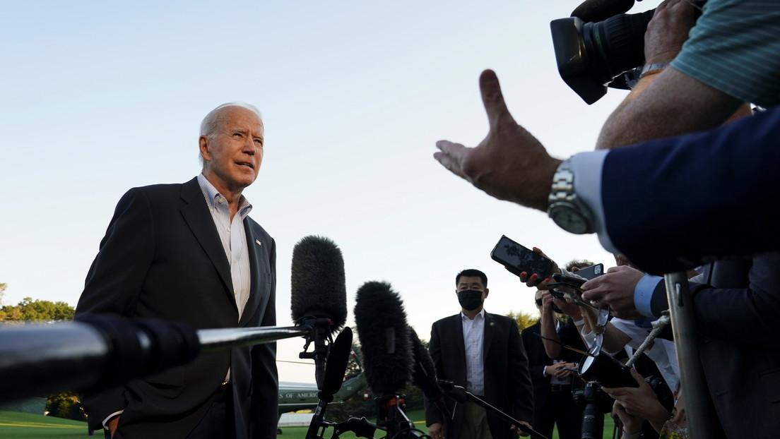 """Biden afirma que """"China tiene un problema real con los talibanes"""" e intentará """"llegar a algún acuerdo"""" con los islamistas"""