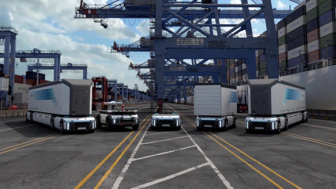 Hyundai presenta su futura generación de camiones de carga autónomos impulsados por hidrógeno