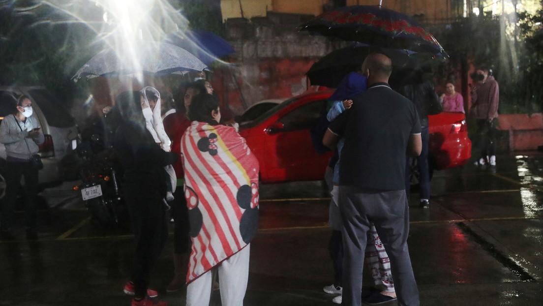 Ciudad de México registra cortes de energía eléctrica tras el sismo de 7,1