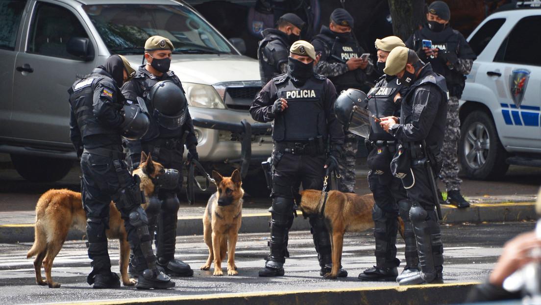 VIDEOS: La Policía reprime con gases lacrimógenos una protesta de los arroceros en Ecuador