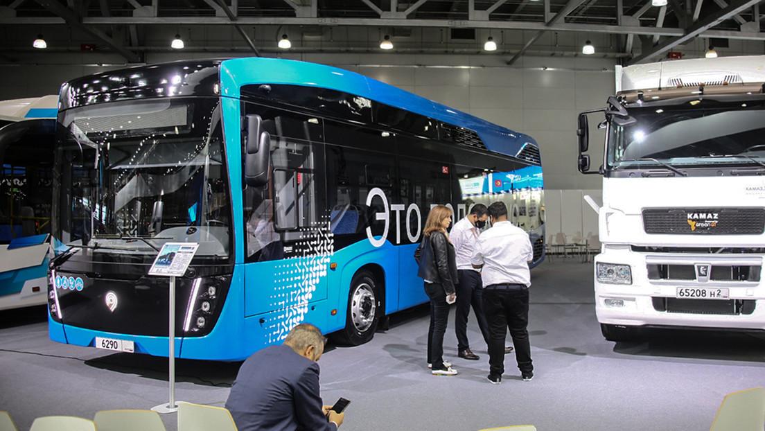 VIDEO: Moscú pondrá a prueba el 'vodorobus', un autobús propulsado por hidrógeno