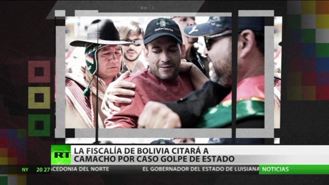 La Fiscalía de Bolivia citará a Camacho por el caso Golpe de Estado