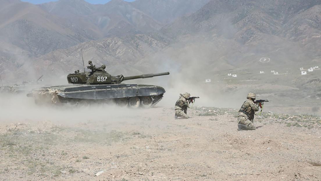 Rusia y varios países vecinos culminan con éxito maniobras militares conjuntas ante la crisis en Afganistán