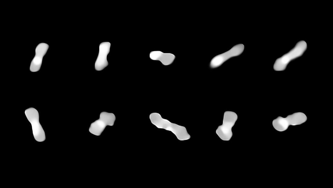 Revelan que un asteroide con forma de 'hueso de perro' habría creado sus propias lunas