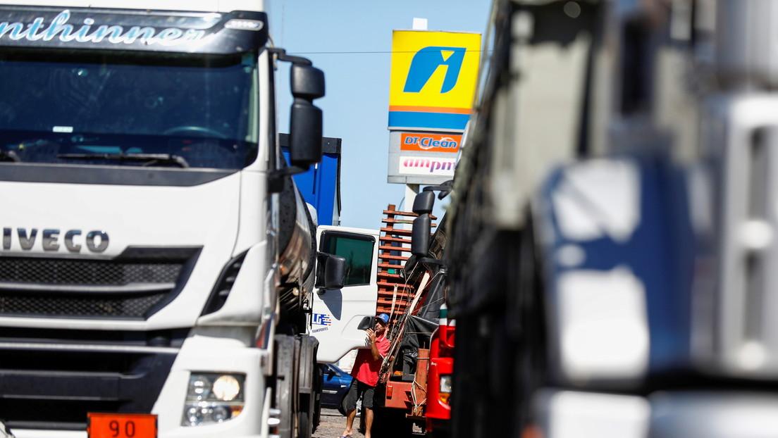 """""""No voy a huir más"""": El camionero 'bolsonarista' que impulsó el bloqueo de las carreteras en Brasil es detenido en México"""