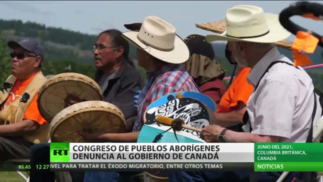 Congreso de pueblos aborígenes de Canadá denuncia al gobierno del país ante la ONU