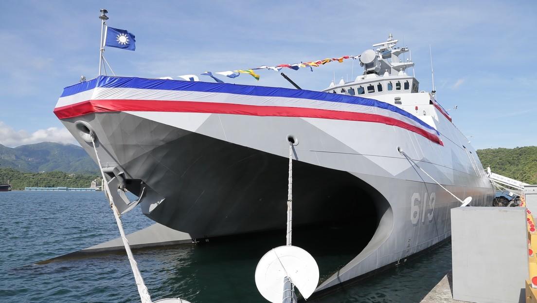 """VIDEO: Taiwán presenta el Ta Jiang, un """"asesino de portaviones"""" que puede destruir objetivos en aire, mar y tierra"""