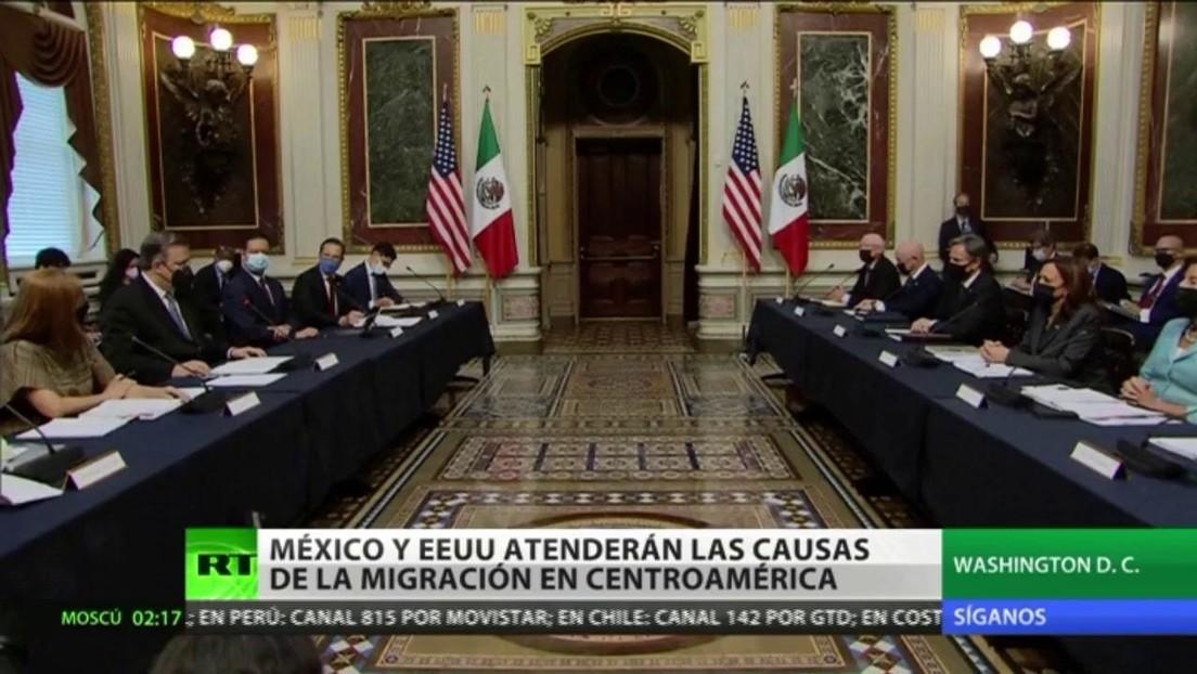 México y EE.UU. acuerdan atender las causas estructurales de la migración en el Triángulo Norte de Centroamérica