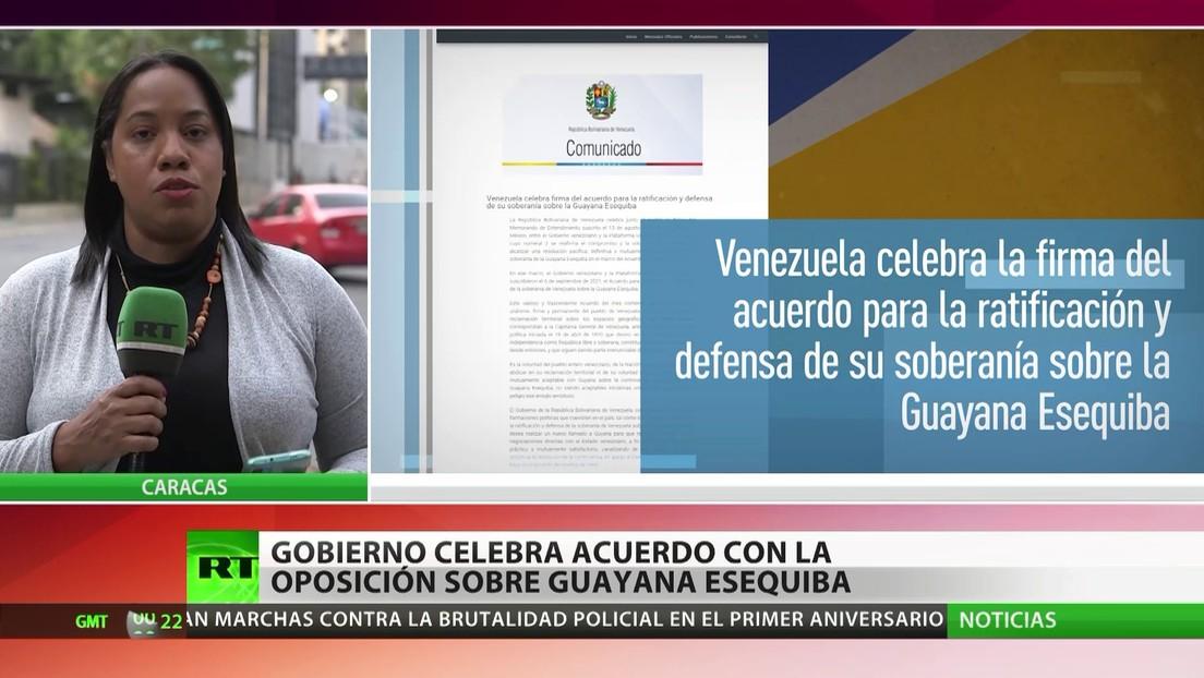 Gobierno venezolano celebra acuerdo con la oposición sobre la Guayana Esequiba
