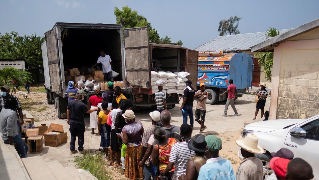 Casi un millón de personas se enfrentan al hambre en zonas de Haití afectadas por el terremoto de 7,2 y la tormenta tropical Grace
