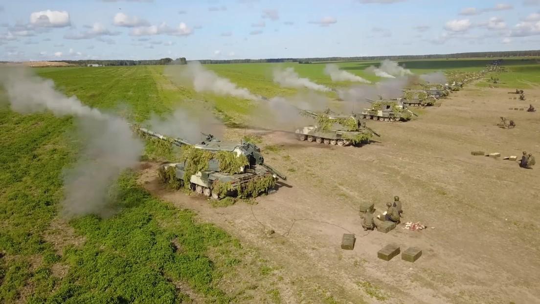 VIDEO: 200.000 efectivos de Rusia y Bielorrusia se despliegan para ejercicios a gran escala