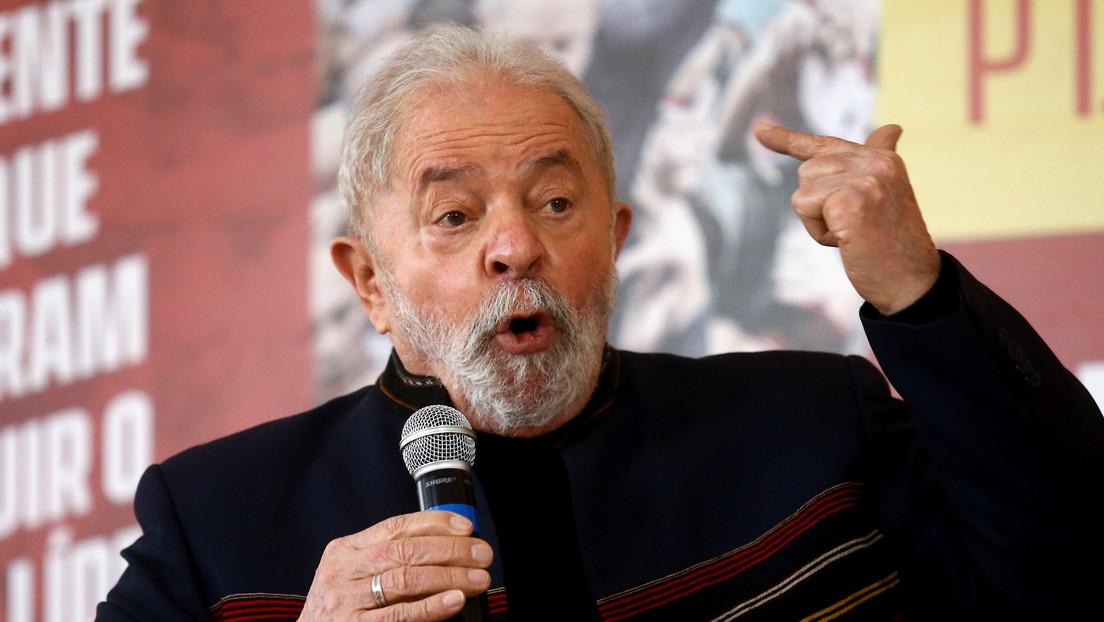 """Lula da Silva dice que Bolsonaro no es derecha y que hay que """"analizarlo como a Hitler y Mussolini"""""""