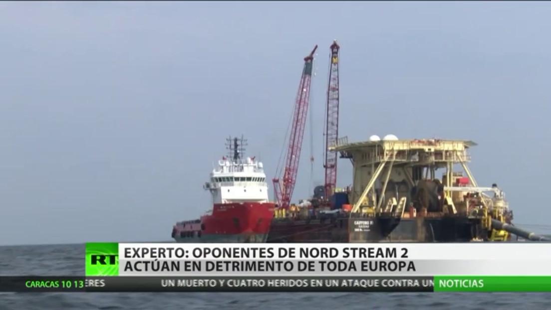 """Experto: """"Los países que se oponen al Nord Stream defienden los intereses de EE.UU. en detrimento de Europa"""""""