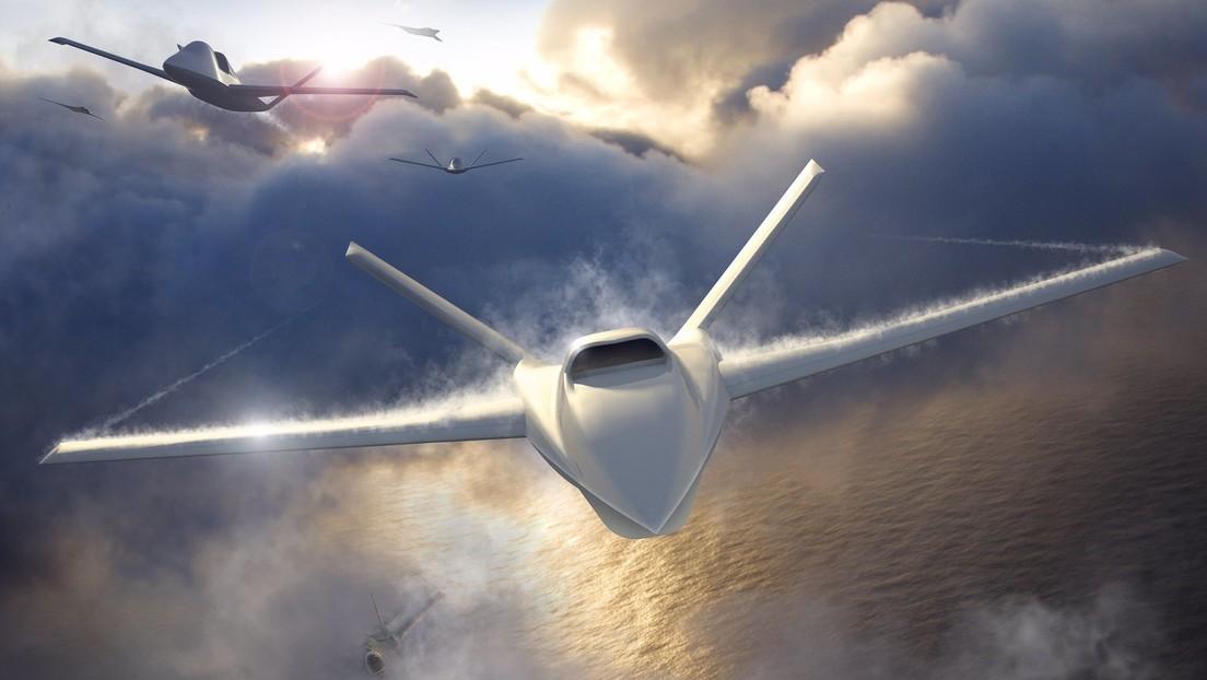 Presentan en EE.UU. un nuevo dron-compañero para aviones tripulados bastante económico que permite sacrificarlo, si procede