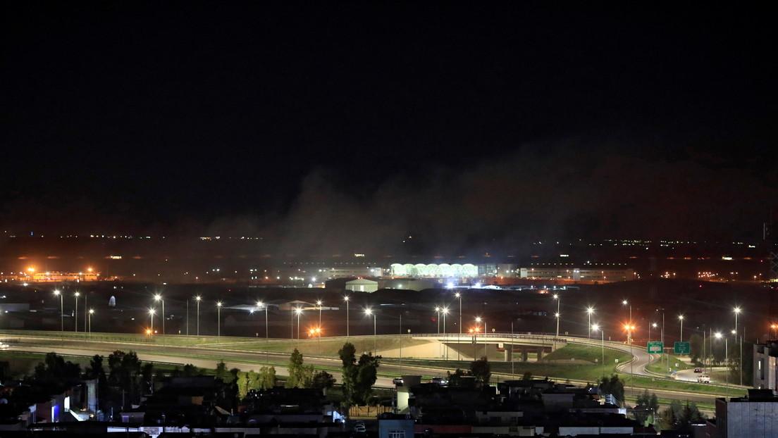 Atacan con drones el aeropuerto de Erbil, en Irak, donde están estacionadas las fuerzas de EE.UU.