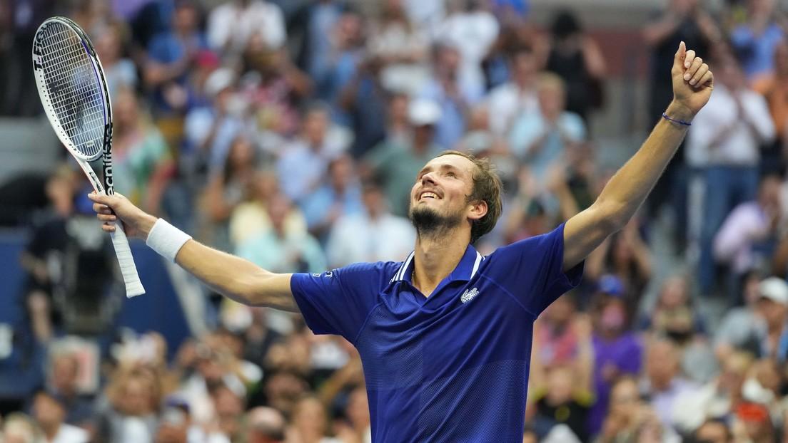 Medvédev se convierte en el primer ruso en ganar el US Open desde 2000 y no permite que Djokovic haga historia