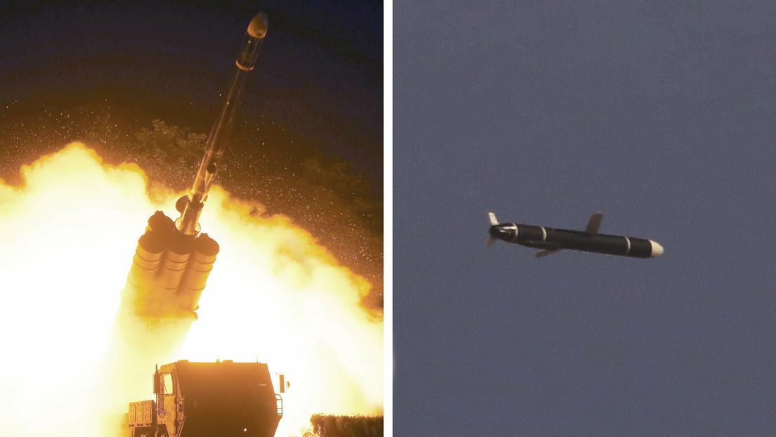 Corea del Norte dispara un nuevo tipo de misil de crucero de largo alcance