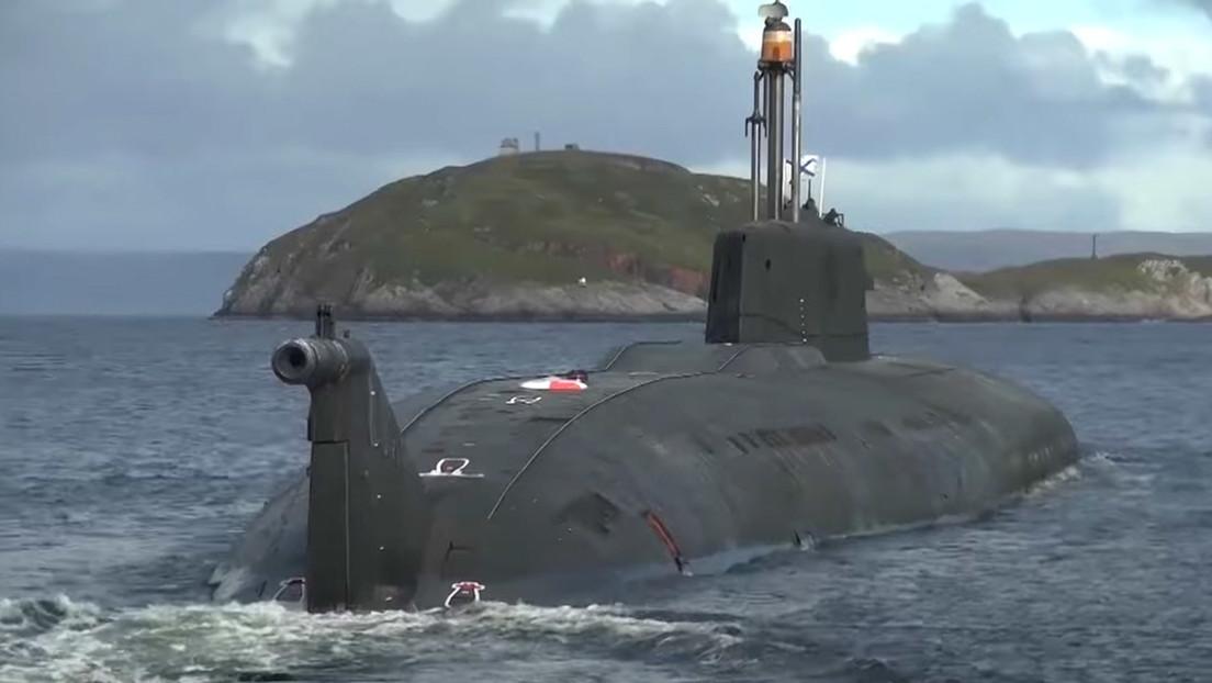 VIDEO: Submarino nuclear ruso lanza en inmersión un misil antibuque durante ejercicios en mar de Barents