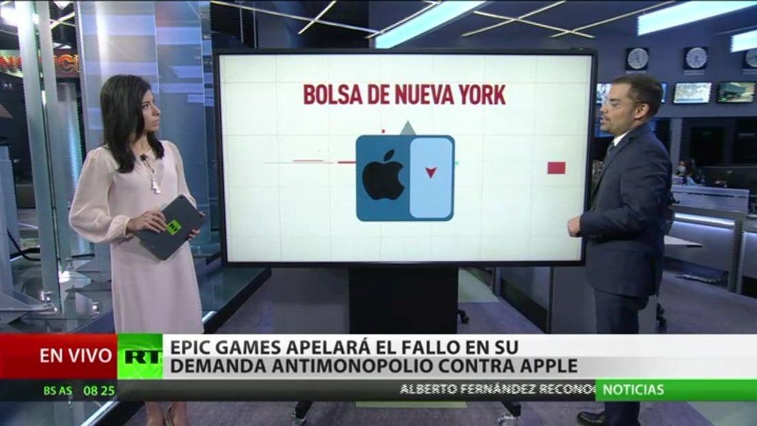 Epic Games apelará el fallo en su demanda antimonopolio contra Apple