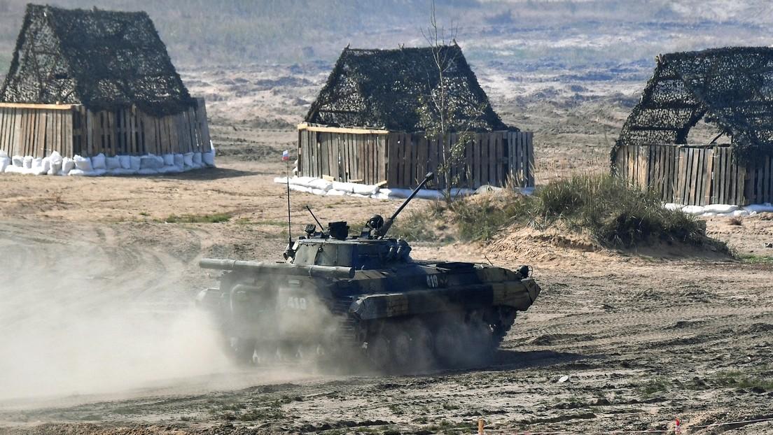 Rusia emplea por primera vez robots de combate durante los ejercicios militares Západ-2021