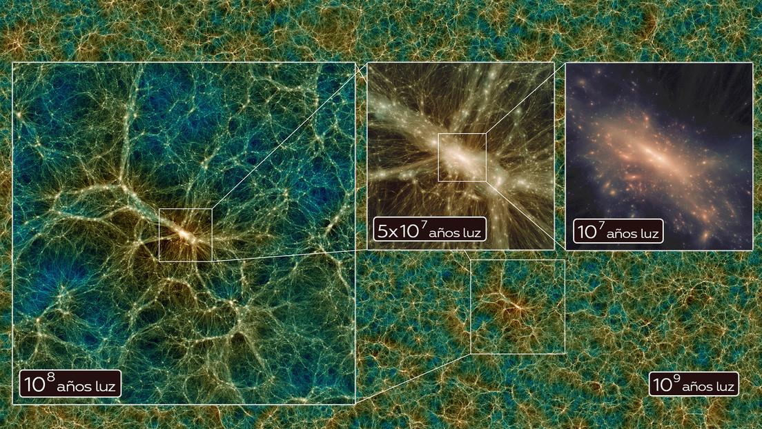 Presentan la simulación del universo más exacta y completa que existe