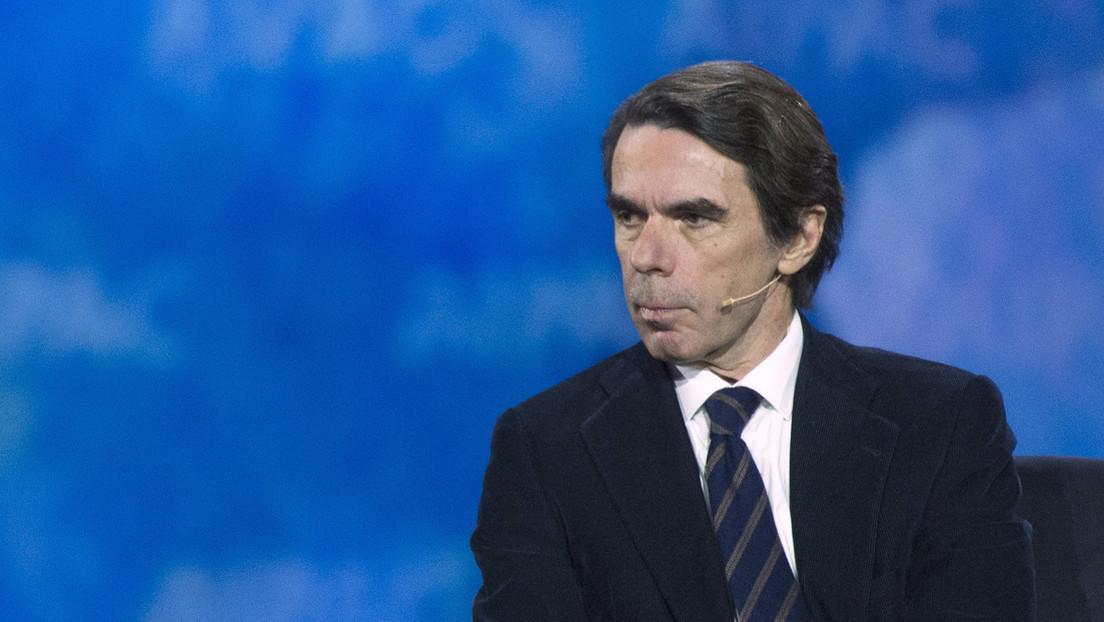 """El expresidente español José María Aznar tilda de """"derrota total"""" la retirada de EE.UU. de Afganistán"""